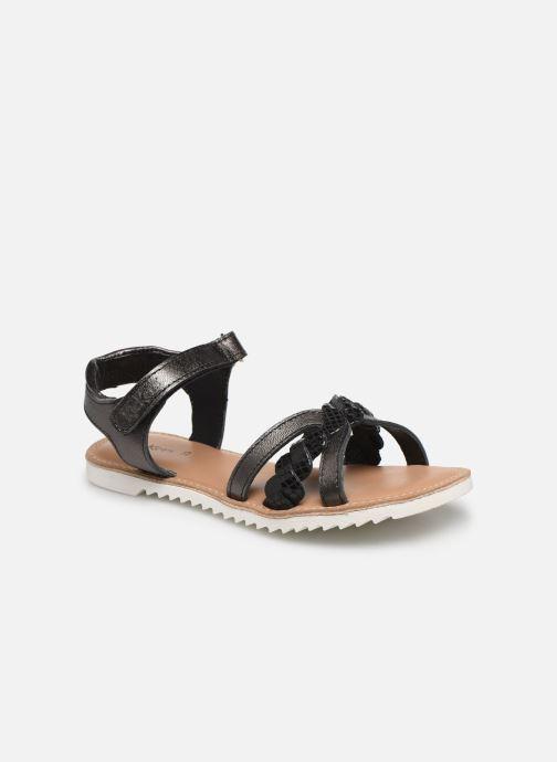 Sandales et nu-pieds Kickers Sharkky Noir vue détail/paire