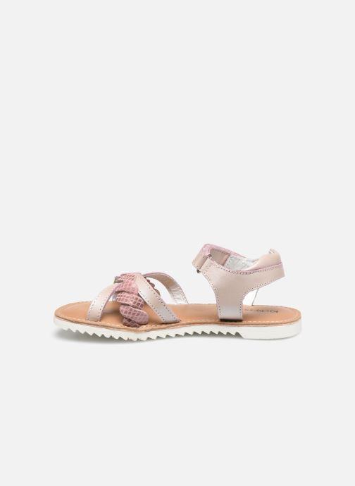 Sandales et nu-pieds Kickers Sharkky Rose vue face