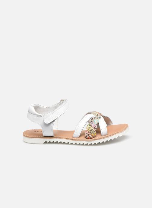 Sandales et nu-pieds Kickers Sharkky Blanc vue derrière