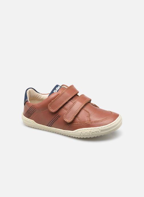 Sneaker Kickers Jouo braun detaillierte ansicht/modell