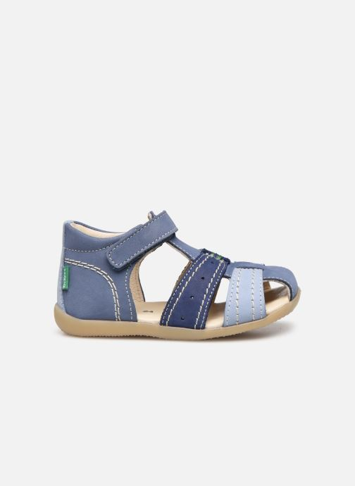 Sandalen Kickers Bigbazar-2 blau ansicht von hinten