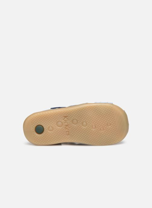 Sandales et nu-pieds Kickers Bigbazar-2 Bleu vue haut