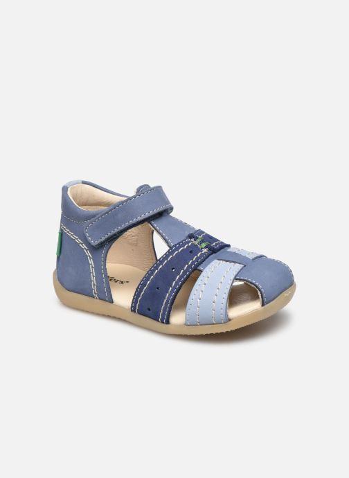 Sandales et nu-pieds Kickers Bigbazar-2 Bleu vue détail/paire
