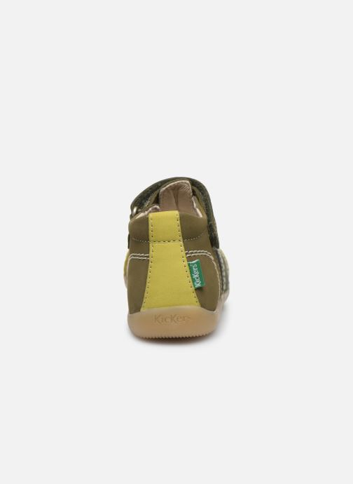 Sandales et nu-pieds Kickers Bigbazar-2 Vert vue droite