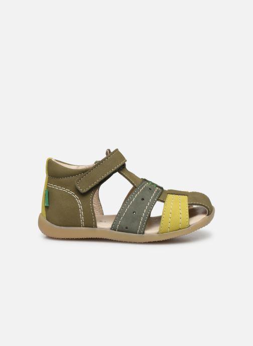 Sandales et nu-pieds Kickers Bigbazar-2 Vert vue derrière
