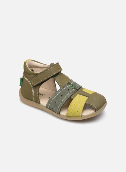 Sandales et nu-pieds Kickers Bigbazar-2 Vert vue détail/paire