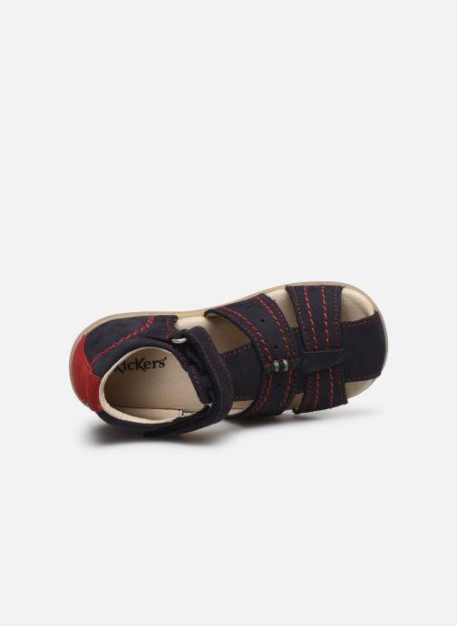 Sandali e scarpe aperte Kickers Bigbazar-2 Azzurro immagine sinistra