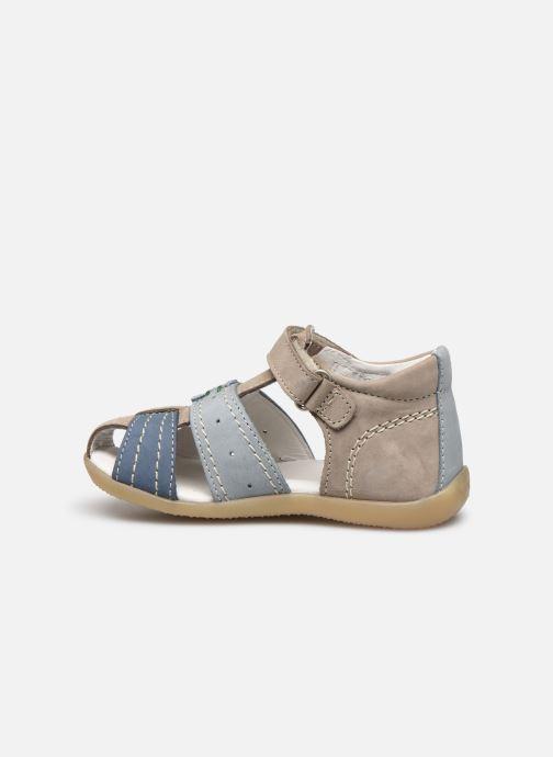 Sandali e scarpe aperte Kickers Bigbazar-2 Grigio immagine frontale