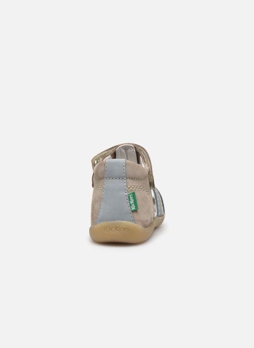 Sandali e scarpe aperte Kickers Bigbazar-2 Grigio immagine destra