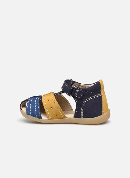 Sandalen Kickers Bigbazar-2 blau ansicht von vorne