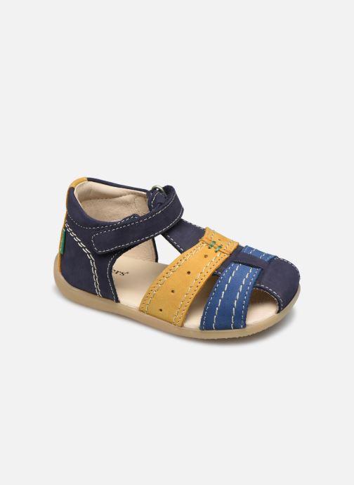 Sandalen Kickers Bigbazar-2 blau detaillierte ansicht/modell