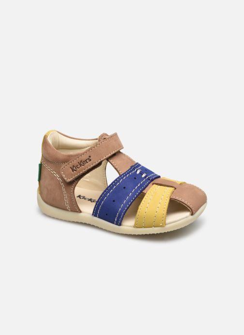Sandales et nu-pieds Kickers Bigbazar-2 Beige vue détail/paire