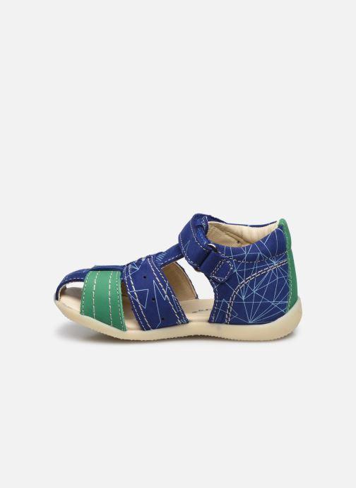 Sandalen Kickers Bigbazar-2 Blauw voorkant