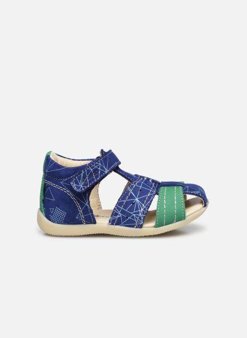 Sandalen Kickers Bigbazar-2 Blauw achterkant