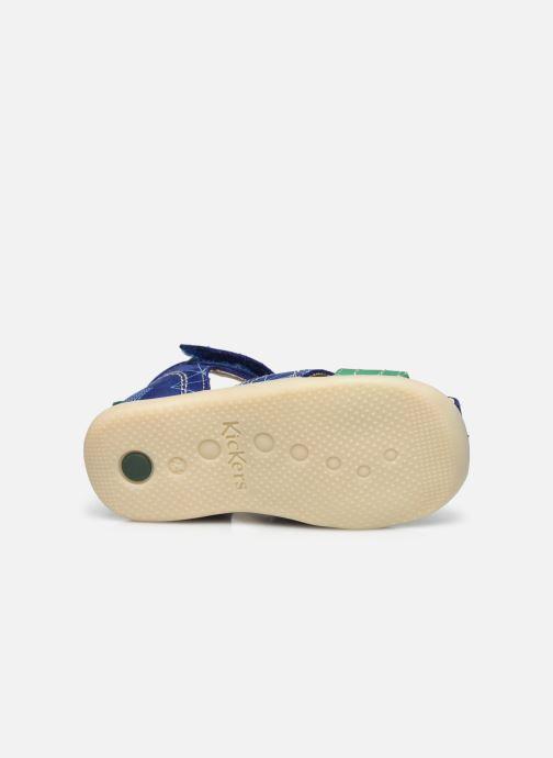 Sandalen Kickers Bigbazar-2 Blauw boven