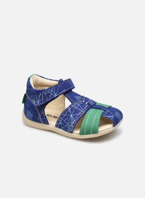 Sandalen Kickers Bigbazar-2 Blauw detail