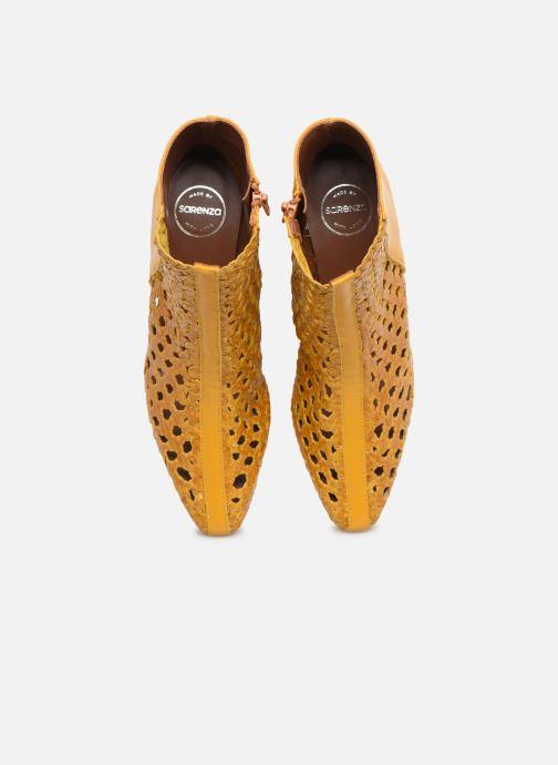 Bottines et boots Made by SARENZA Riviera Couture Boots #1 Jaune vue portées chaussures