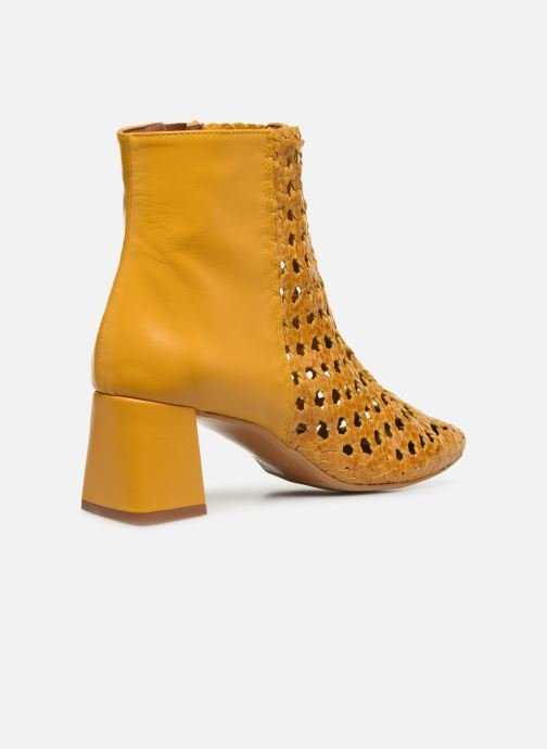 Bottines et boots Made by SARENZA Riviera Couture Boots #1 Jaune vue face
