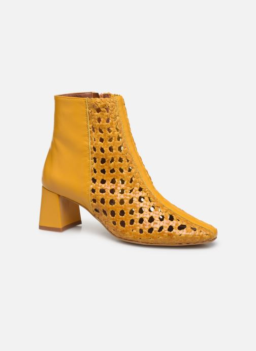 Ankle boots Made by SARENZA Riviera Couture Boots #1 Yellow view from the right