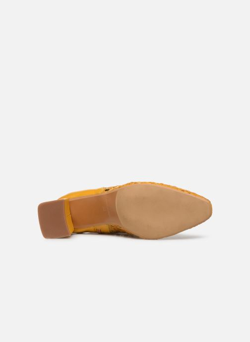 Bottines et boots Made by SARENZA Riviera Couture Boots #1 Jaune vue haut