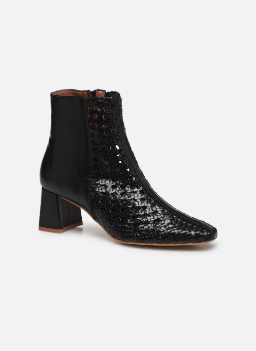 Bottines et boots Made by SARENZA Riviera Couture Boots #1 Noir vue droite