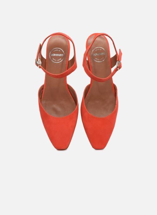 Bailarinas Made by SARENZA Riviera Couture Ballerines #1 Rojo vista del modelo