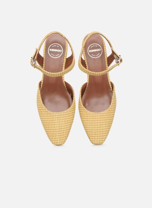 Ballerines Made by SARENZA Riviera Couture Ballerines #1 Beige vue portées chaussures