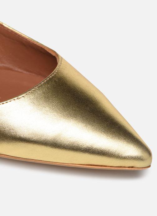Bailarinas Made by SARENZA Riviera Couture Ballerines #2 Oro y bronce vista lateral izquierda
