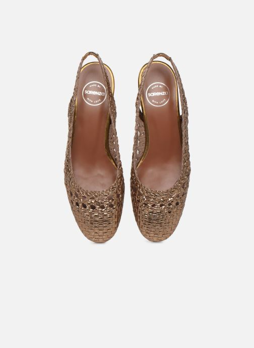 Ballerines Made by SARENZA Riviera Couture Ballerines #4 Or et bronze vue portées chaussures