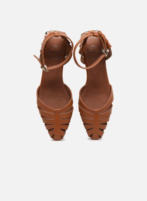 Ballerines Made by SARENZA South Village Ballerine #1 Marron vue portées chaussures