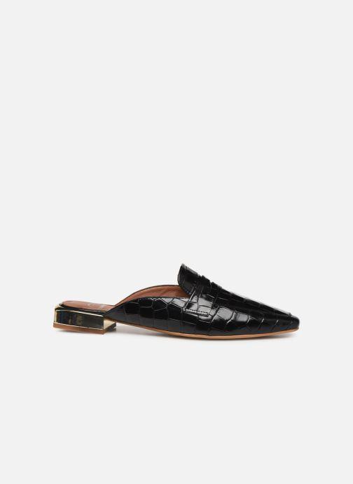 Slipper Made by SARENZA South Village Mocassin #1 schwarz detaillierte ansicht/modell