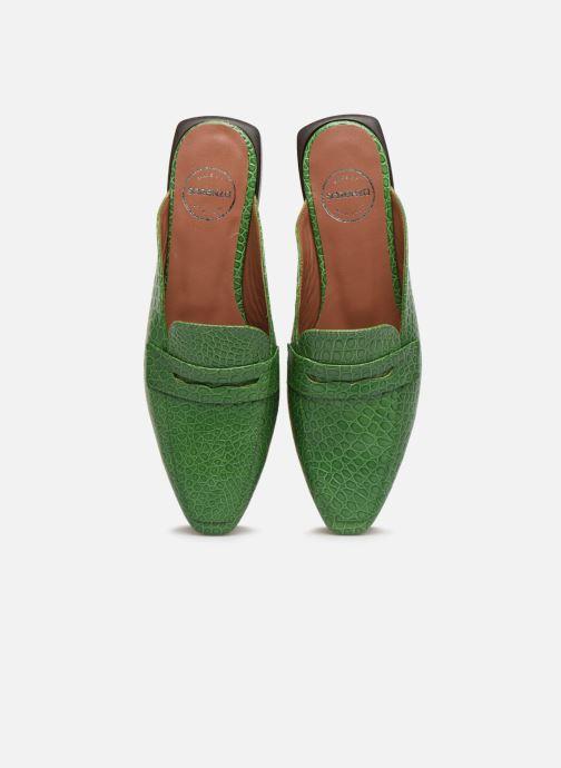 Mocassini Made by SARENZA South Village Mocassin #1 Verde modello indossato