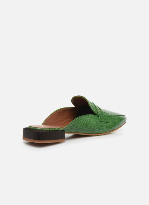 Loafers Made by SARENZA South Village Mocassin #1 Green front view