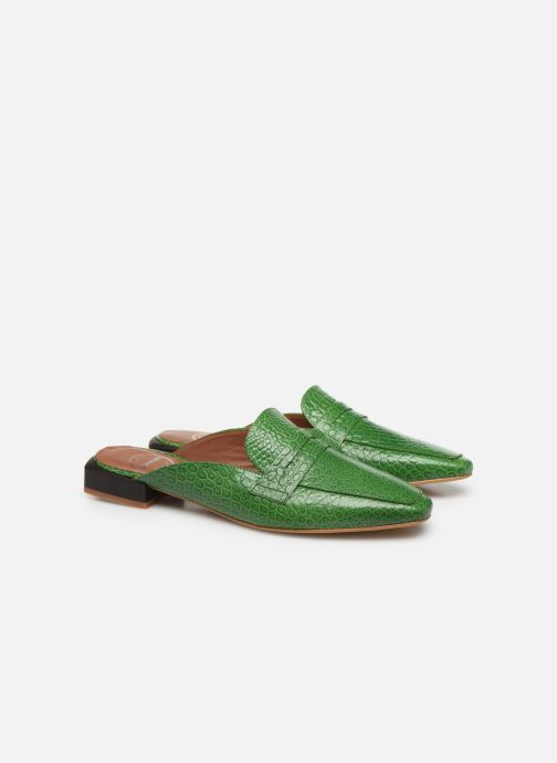 Loafers Made by SARENZA South Village Mocassin #1 Green back view