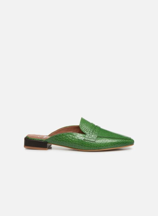 Loafers Made by SARENZA South Village Mocassin #1 Green detailed view/ Pair view