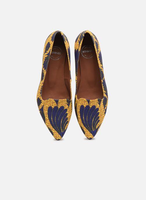 Mocassins Made by SARENZA Africa Vibes Mocassin #1 Jaune vue portées chaussures