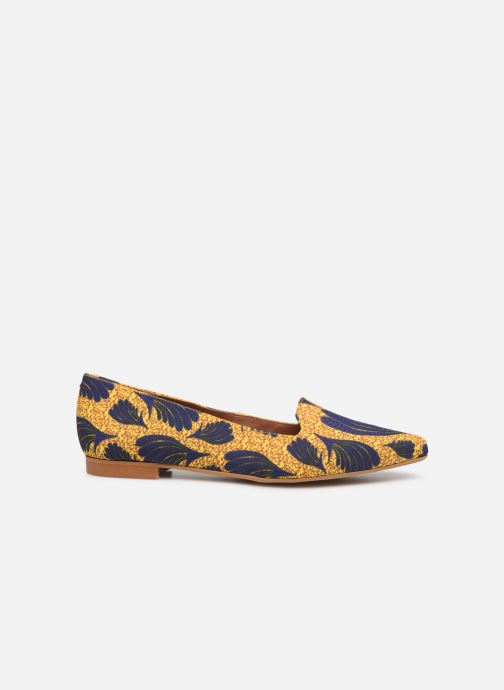 Slipper Made by SARENZA Africa Vibes Mocassin #1 gelb detaillierte ansicht/modell