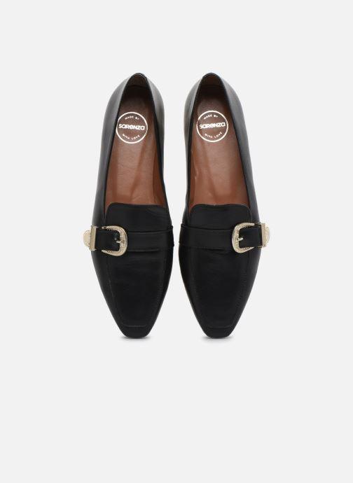 Loafers Made by SARENZA Summer Folk Mocassins #1 Black model view