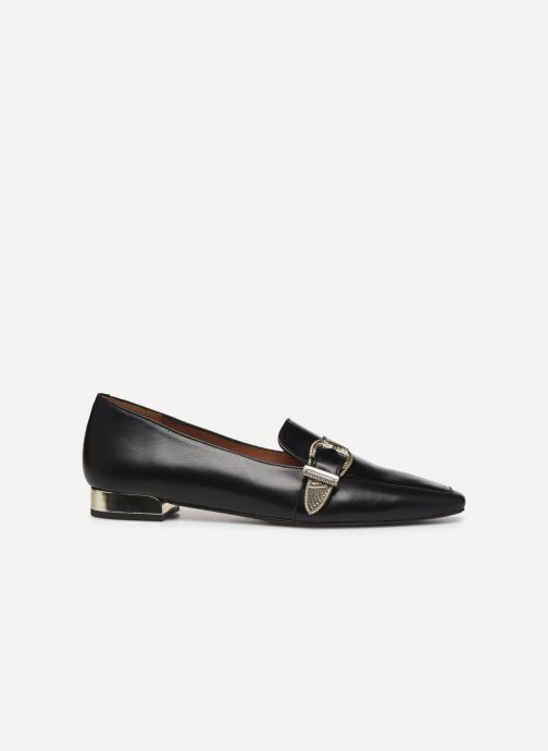 Loafers Made by SARENZA Summer Folk Mocassins #1 Black detailed view/ Pair view