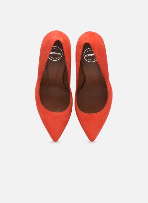 Décolleté Made by SARENZA Riviera Couture Escarpin #7 Arancione modello indossato
