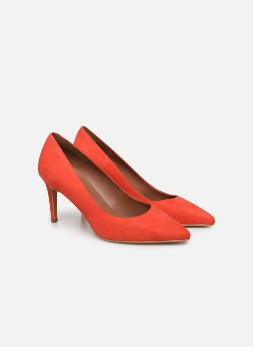 Pumps Made by SARENZA Riviera Couture Escarpin #7 Oranje achterkant