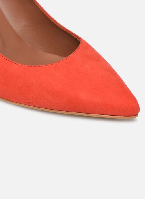 Zapatos de tacón Made by SARENZA Riviera Couture Escarpin #7 Naranja vista lateral izquierda