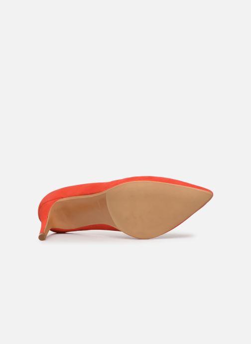 Zapatos de tacón Made by SARENZA Riviera Couture Escarpin #7 Naranja vista de arriba