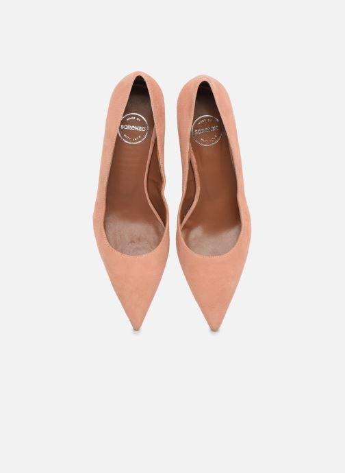 Zapatos de tacón Made by SARENZA Riviera Couture Escarpin #2 Rosa vista del modelo