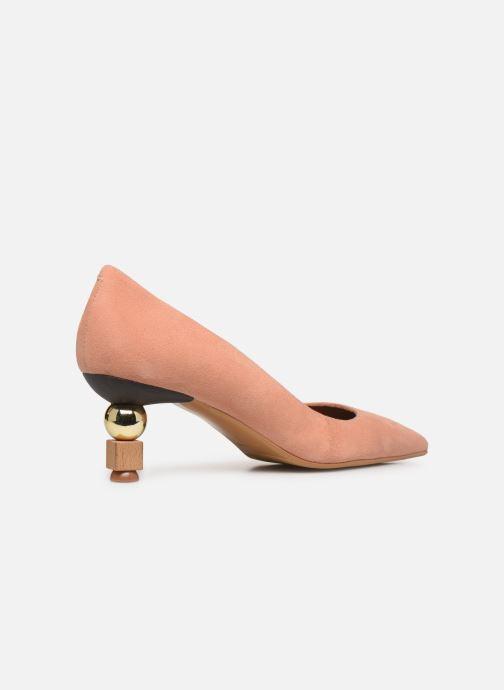 Zapatos de tacón Made by SARENZA Riviera Couture Escarpin #2 Rosa vista de frente