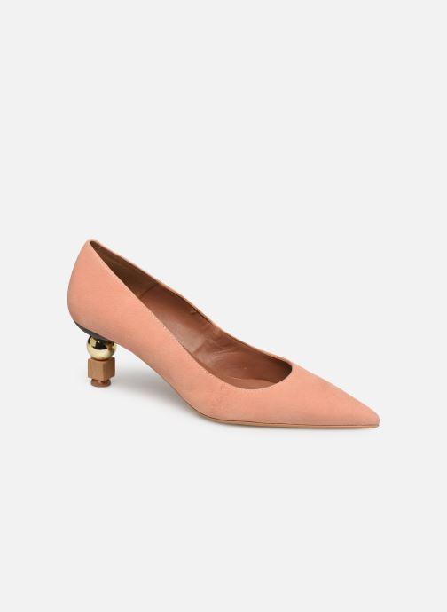 Zapatos de tacón Made by SARENZA Riviera Couture Escarpin #2 Rosa vista lateral derecha