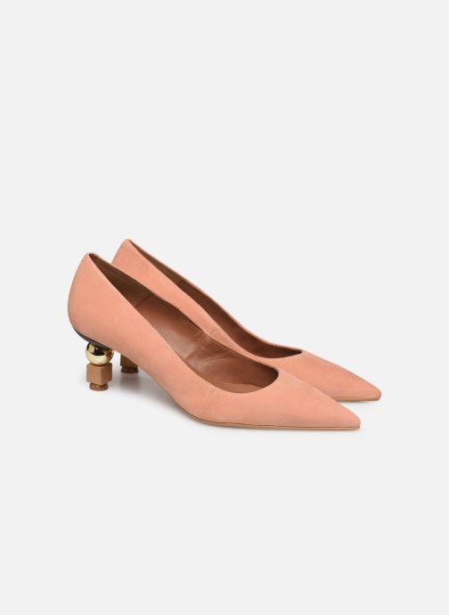 Zapatos de tacón Made by SARENZA Riviera Couture Escarpin #2 Rosa vistra trasera