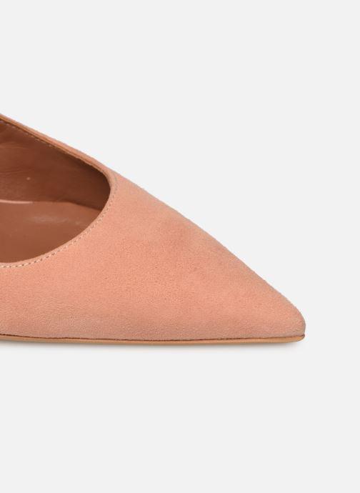 Zapatos de tacón Made by SARENZA Riviera Couture Escarpin #2 Rosa vista lateral izquierda