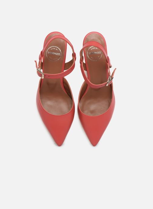 Décolleté Made by SARENZA Riviera Couture Escarpin #5 Rosso modello indossato