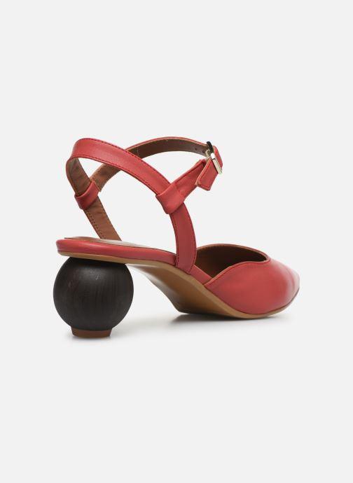 Pumps Made by SARENZA Riviera Couture Escarpin #5 rot ansicht von vorne
